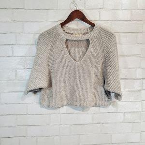 silence + noise short sleeve sweater